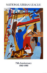 The Builders Jacob Lawrence Art Print