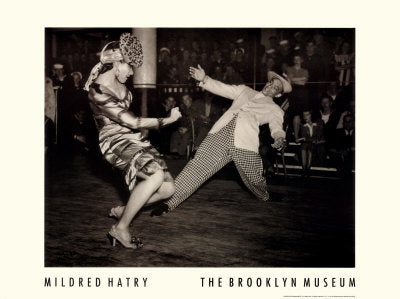 Stagedoor Canteen Dunham Dancers 1943 Mildred Hatry Art Print Posters & Prints - Beloved Gift Shop