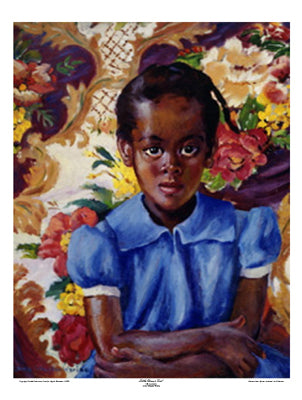 Little Brown Girl Laura Wheeler Waring | Laura Wheeler Waring