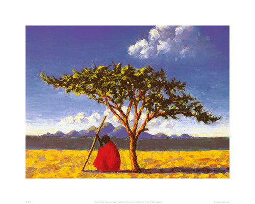 Under the Acacia Tree Tilly Willis Art Print Posters & Prints - Beloved Gift Shop