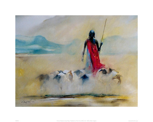 Suswa Sheep Frances Simpson Art Print Posters & Prints - Beloved Gift Shop