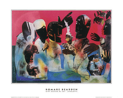 Carolina Shout Romare Bearden Art Print Posters & Prints - Beloved Gift Shop