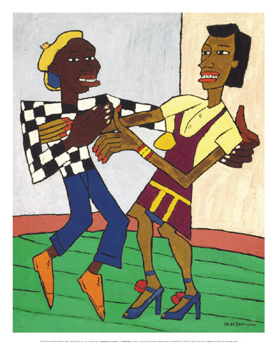 Jitterbugs William H. Johnson Art Print Posters & Prints - Beloved Gift Shop