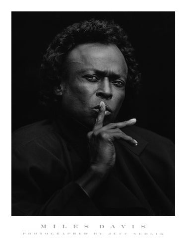 Miles Davis Jeff Sedlik Art Print Posters & Prints - Beloved Gift Shop