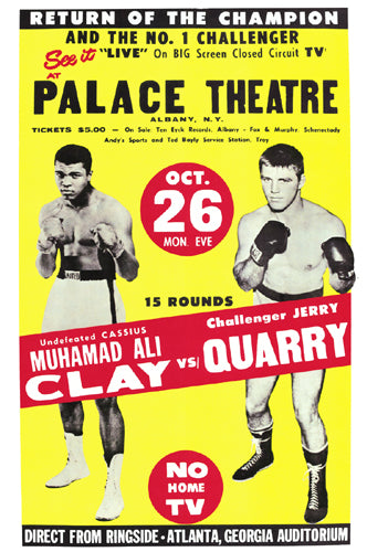 Muhammad Ali vs. Jerry Quarry 1970 | Unknown