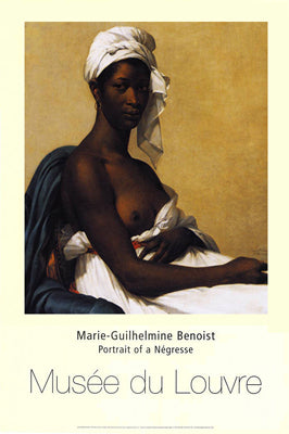 Portrait of a Negress 1800 | Marie-Guilhelmine Benoist