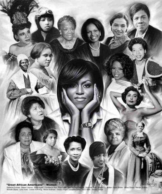 Great African Americans: Women Wishum Gregory Art Print Posters & Prints - Beloved Gift Shop