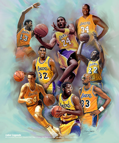 Laker Legends | Wishum Gregory