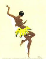 Black Thunder (Josephine Baker) Paul Colin Art Print