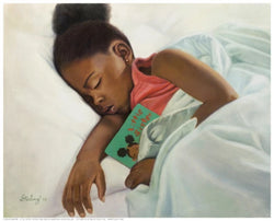 Little Sister Sterling Brown Art Print