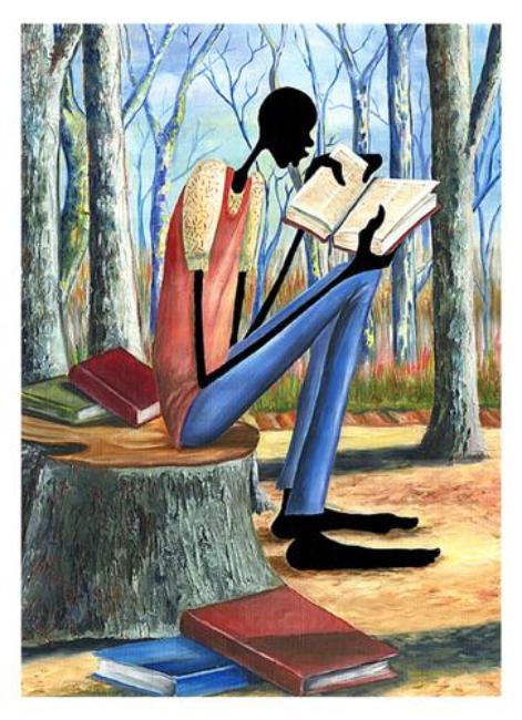 Taking in Knowledge Elgina McCrary Art Print