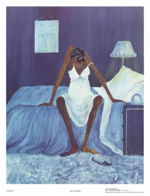 Blue Monday Annie Lee Art Print Posters & Prints - Beloved Gift Shop