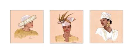 Hattitude in Gold | Marcella Hayes Muhammad