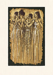 Sisters in Spirit Monica Stewart Art Print