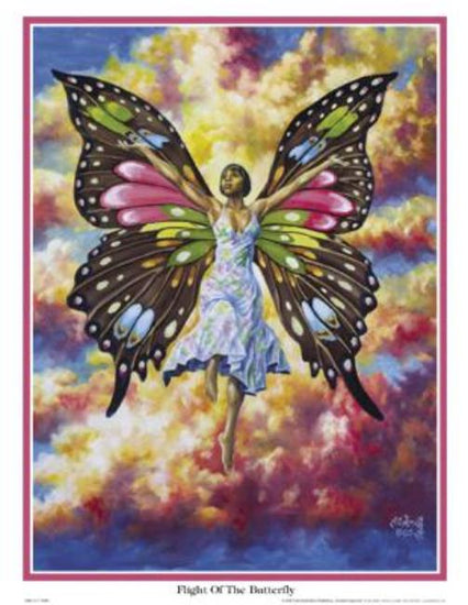 Flight of the Butterfly A.C. Smith Art Print