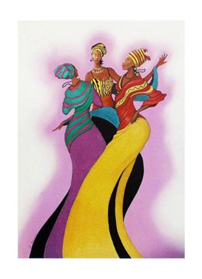 Sisters in Dance Albert Fennell Art Print