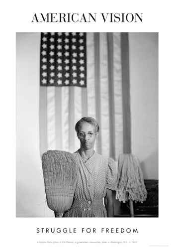 American Gothic 1942 (Struggle for Freedom) | Gordon Parks