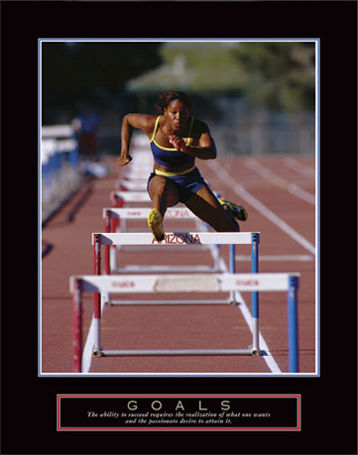 Goals - Runner Jumping Hurdles | Unknown