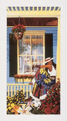 Grandma's Visitor Gigi Boldon Art Print Posters & Prints - Beloved Gift Shop