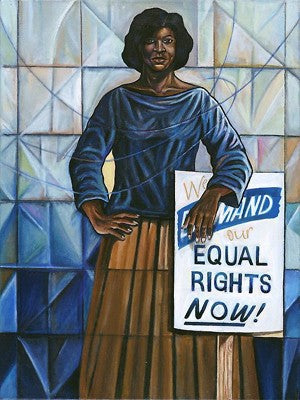 Equal Rights Anthony Armstrong Art Print Posters & Prints - Beloved Gift Shop
