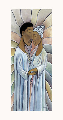 Spiritual Embrace Refrigerator Art Magnet Magnet - Beloved Gift Shop