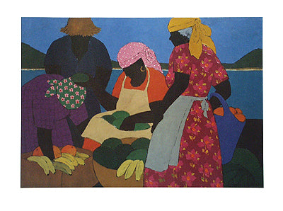 West Indian Market Gloria Lynn Art Print