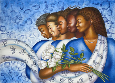 Zetarations (Zeta Phi Beta) Larry Poncho Brown Art Print Posters & Prints - Beloved Gift Shop