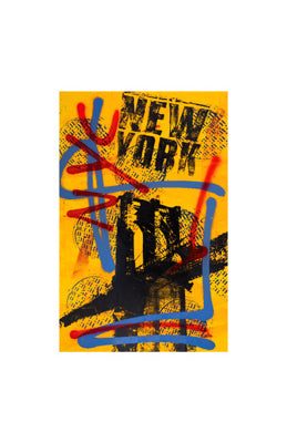 NYC Yellow II Bobby Hill Art Print Posters & Prints - Beloved Gift Shop