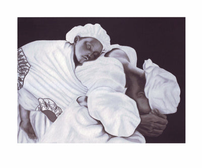 Mother and Child Anthony Jordan Art Print