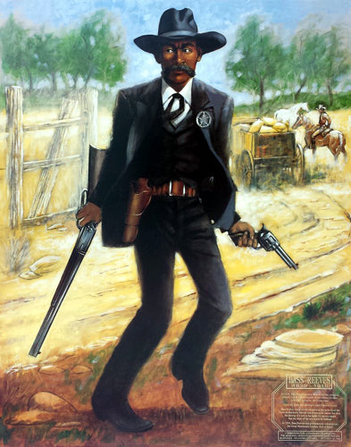 Bass Reeves Marshal Henry C. Porter Art Print