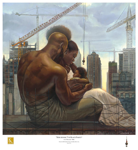 Rebuilding the Black Family WAK Art Print Posters & Prints - Beloved Gift Shop