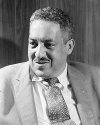 Thurgood Marshall 1957 McMahan Photo Archive Art Print