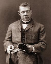 Booker T. Washington Hampton Virginia 1903 McMahan Photo Archive Art Print