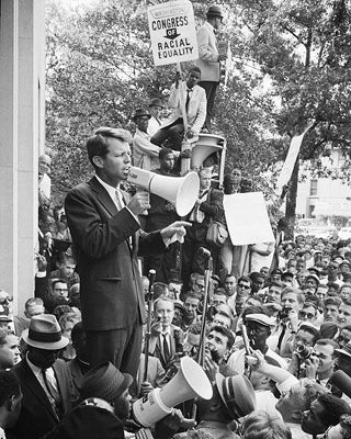 Robert F. Kennedy at Civil Rights Demonstration Washington DC 1963 | McMahan