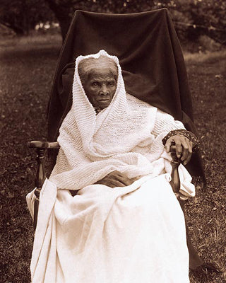 Harriet Tubman at Her Home in Auburn NY 1911 | McMahan