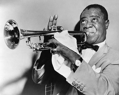 Louis Armstrong 1953 McMahan Photo Archive Art Print