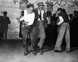 Jitterbug Negro Juke Joint Claksdale Mississippi 1939 McMahan Photo Archive Art Print