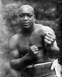 Boxer Jack Johnson Early Portrait c. 1909 McMahan Photo Archive Art Print