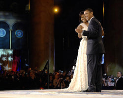 President & First Lady: Dance at the 56th Inaugural Ball DC 2009 (Mini) Art Print