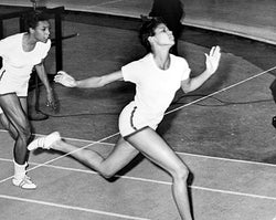 Olympic Champion Wilma Rudolph Madison Square Garden 1961 McMahan Photo Archive Art Print