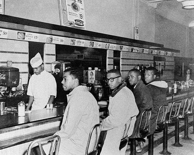 Greensboro Sit-In at Woolworth's February 2 1960 | McMahan