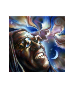 Clarence Clemons: Friend of Mine Shen Art Print