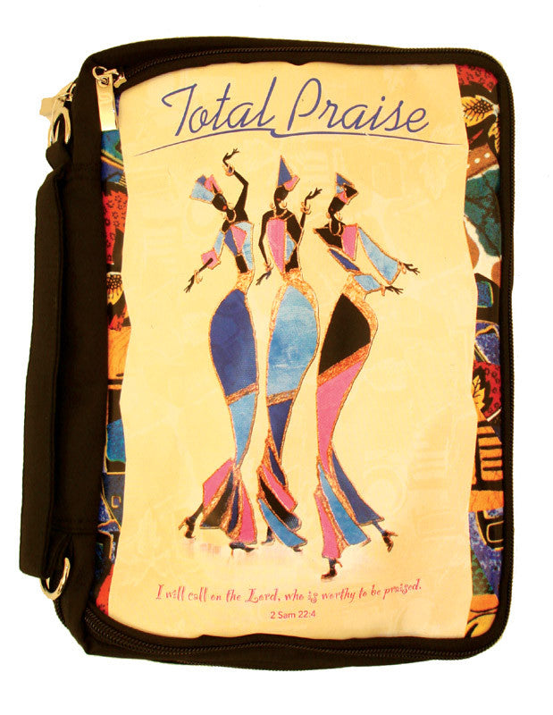 Total Praise Bible Bag Bible Cover - Beloved Gift Shop