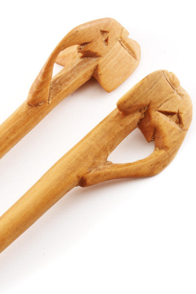 Wooden Elephant Chopstick Set Chop Sticks - Beloved Gift Shop