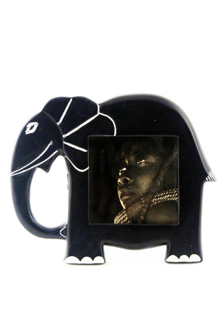 African Soapstone Elephant Picture Frames by Zawadi Gifts - Beloved Gift Shop