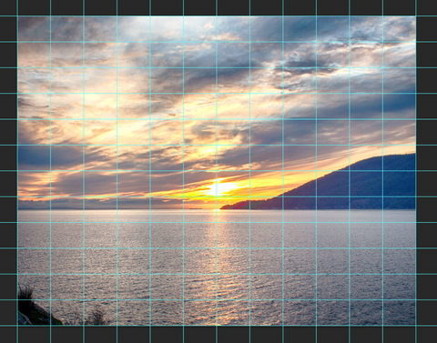 sunset at whytecliff photo in photoshop