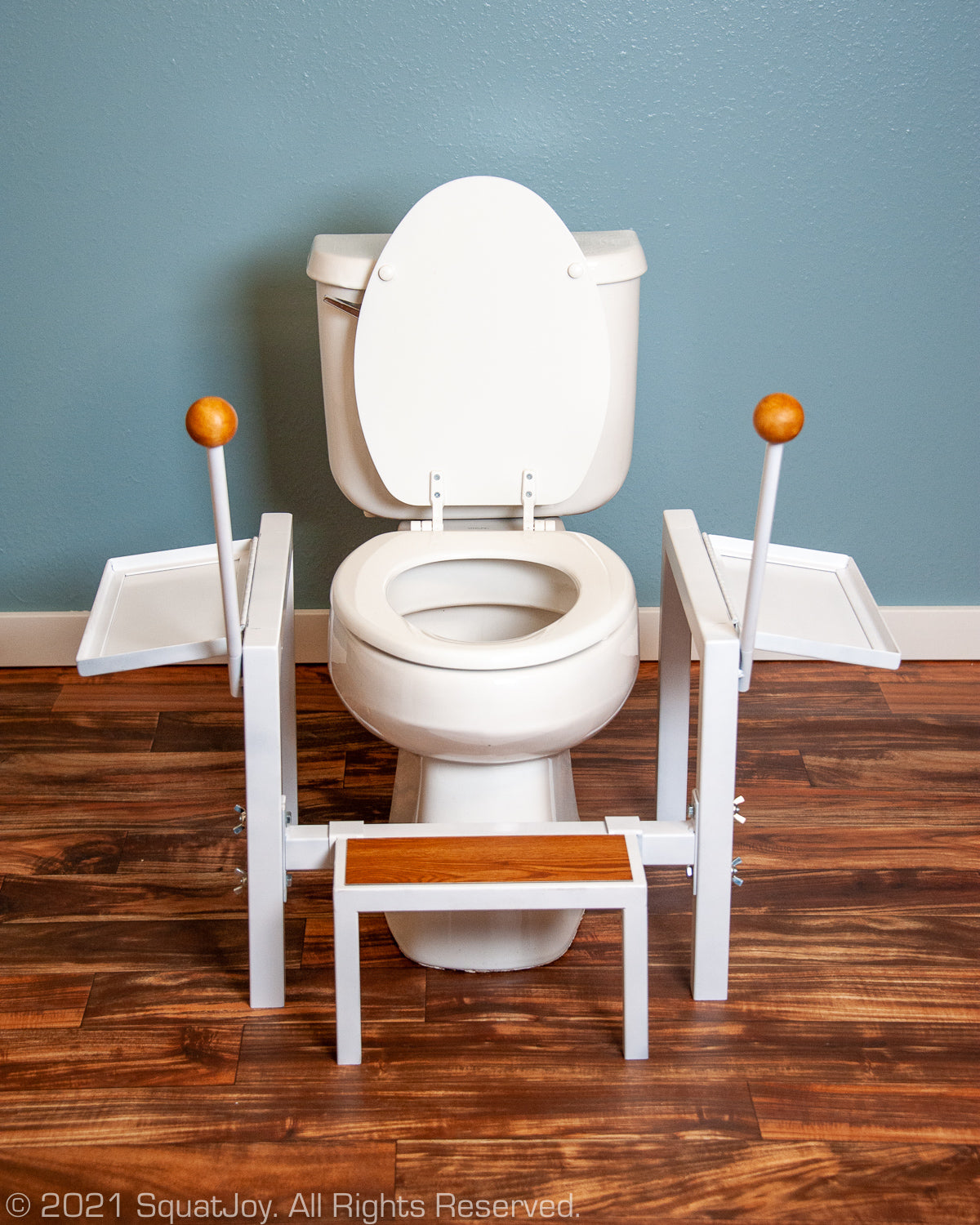 Full-squat toilet seat SquatJoy