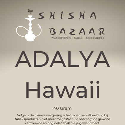Adalya Hawaii Waterpijptabak  40 Gram - Shishabazaar