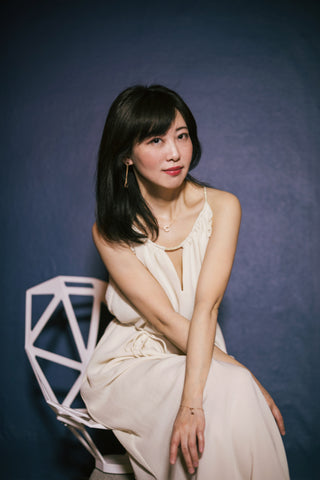 Stéphanie CHEN, the founder and designer of the brand.