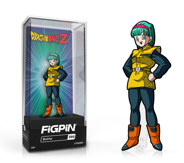 FiGPiN Classic: Dragon Ball Z - Bulma #366